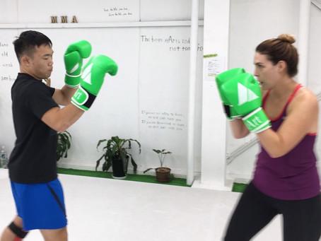 11月24日 stArt格闘技体験会 打撃クラス stArtトレーニングで開館