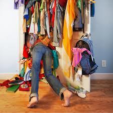 Overfilled closet