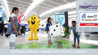 Heathrow's family-friendly revamp in time for half-term