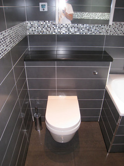 Wall mounted W.C / Concealed cistern
