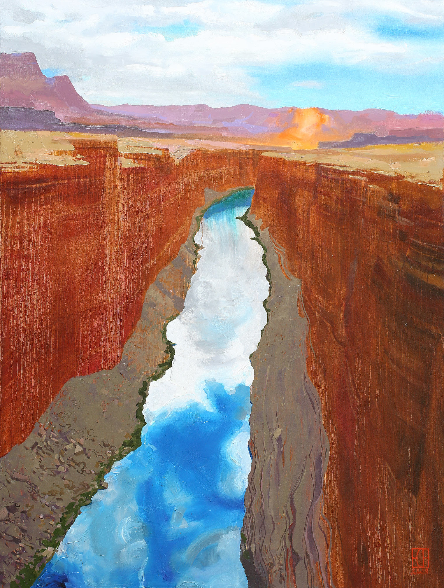 Marble Canyon Rocks & Water