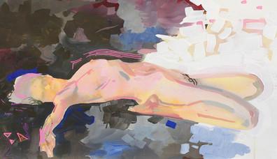 Acrilyc nude