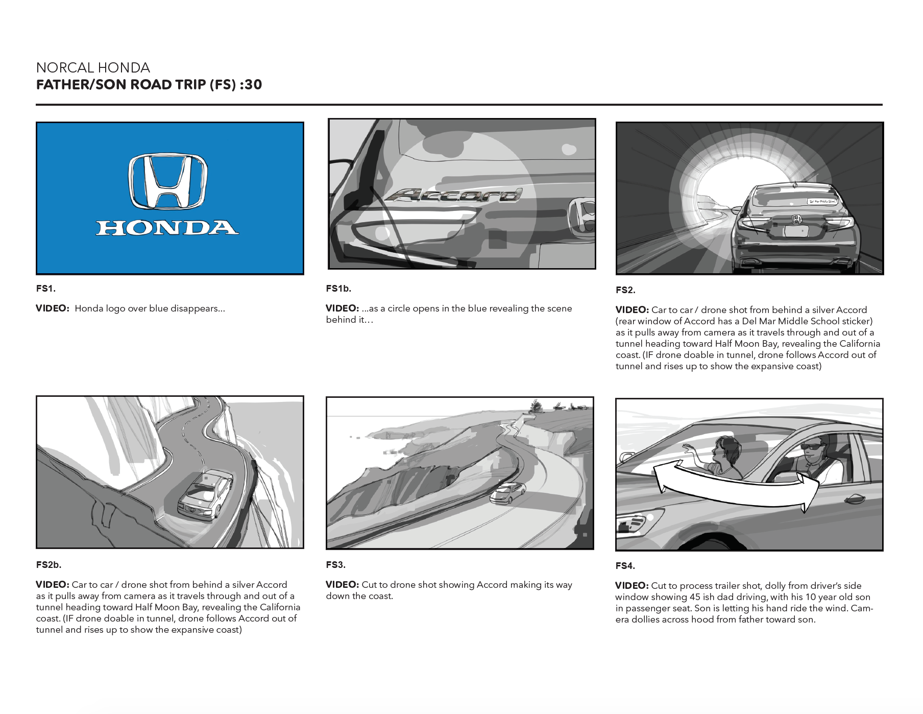 HONDA Done for creative director Brain Bacino Baker Street Advertising.