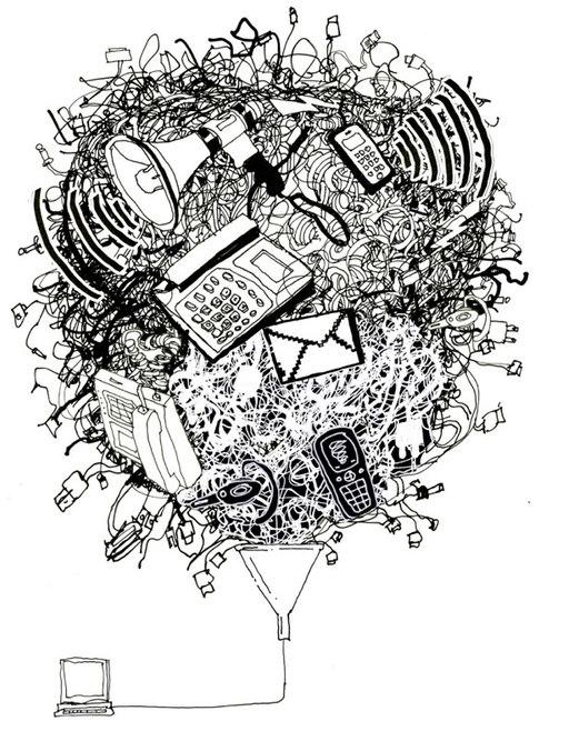 Balloon illustration for Microsoft campaign