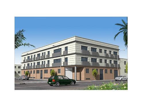 Proyecto de edificio plurifamiliar de 23 viviendas, sótano y semisótano.
