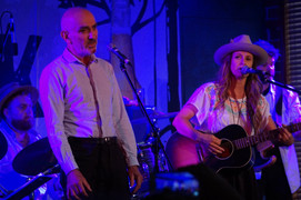 Performing with Paul Kelly and Kasey Chambers