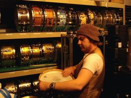 Snare room Blackbird Studios, Nashville