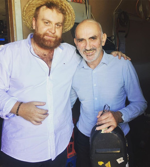 Performing with Paul Kelly