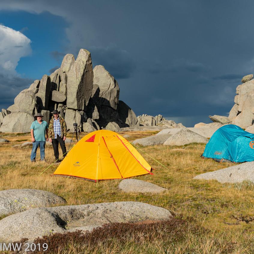 Camp at Aries Tor