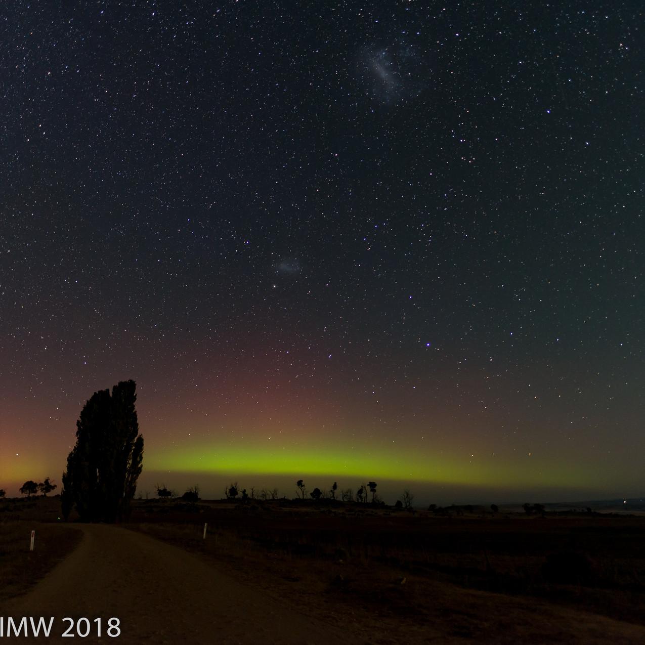 Aurora Australis near Cooma