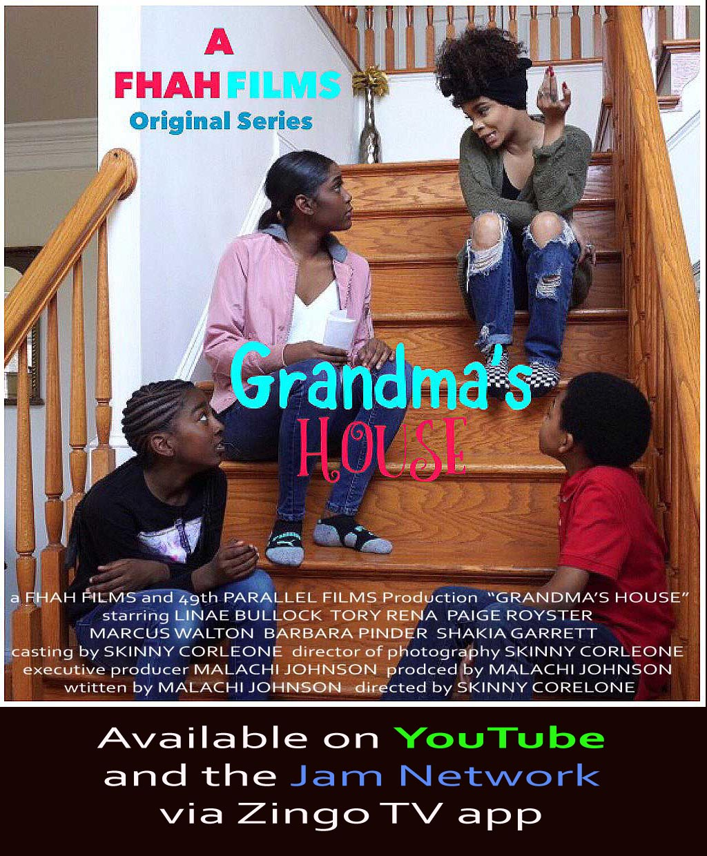 GRANDMA's HOUSE Poster 2019 with Credits