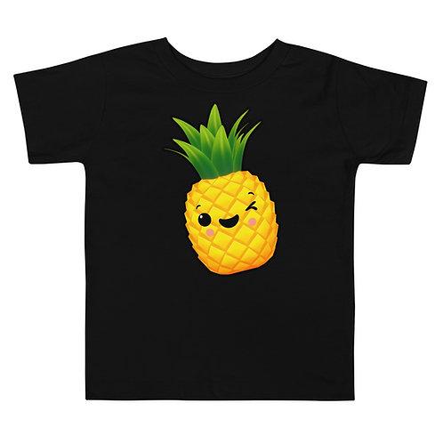 Toddler Short Sleeve Tee - Pineapple
