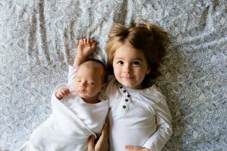 להיות אמא לשניים