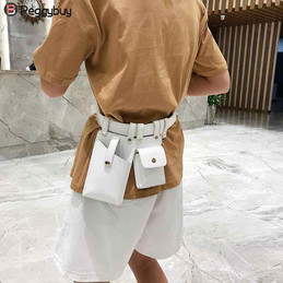 Women-Waist-Bag-Fashion-Leather-Waist-Be