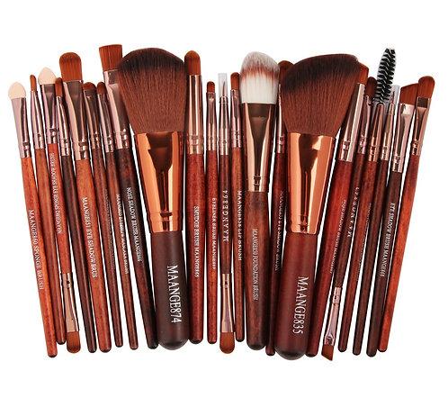 Brown Brush Set