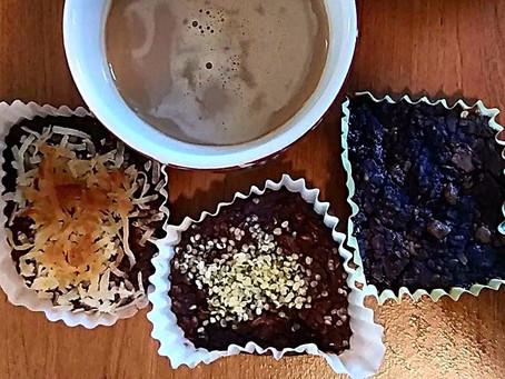 Panquecitos de chocolate y avena veganos