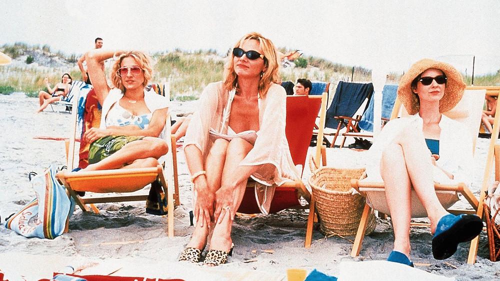 sex and the city à la plage