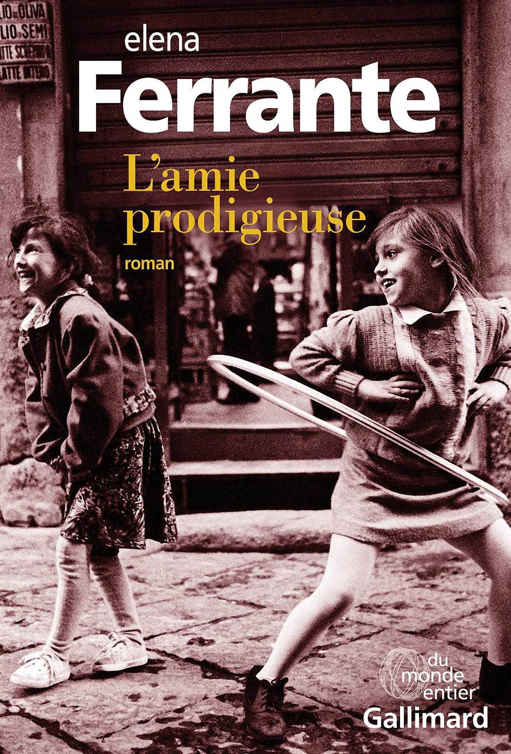 L'amie prodigieuse livre Elena Ferrante