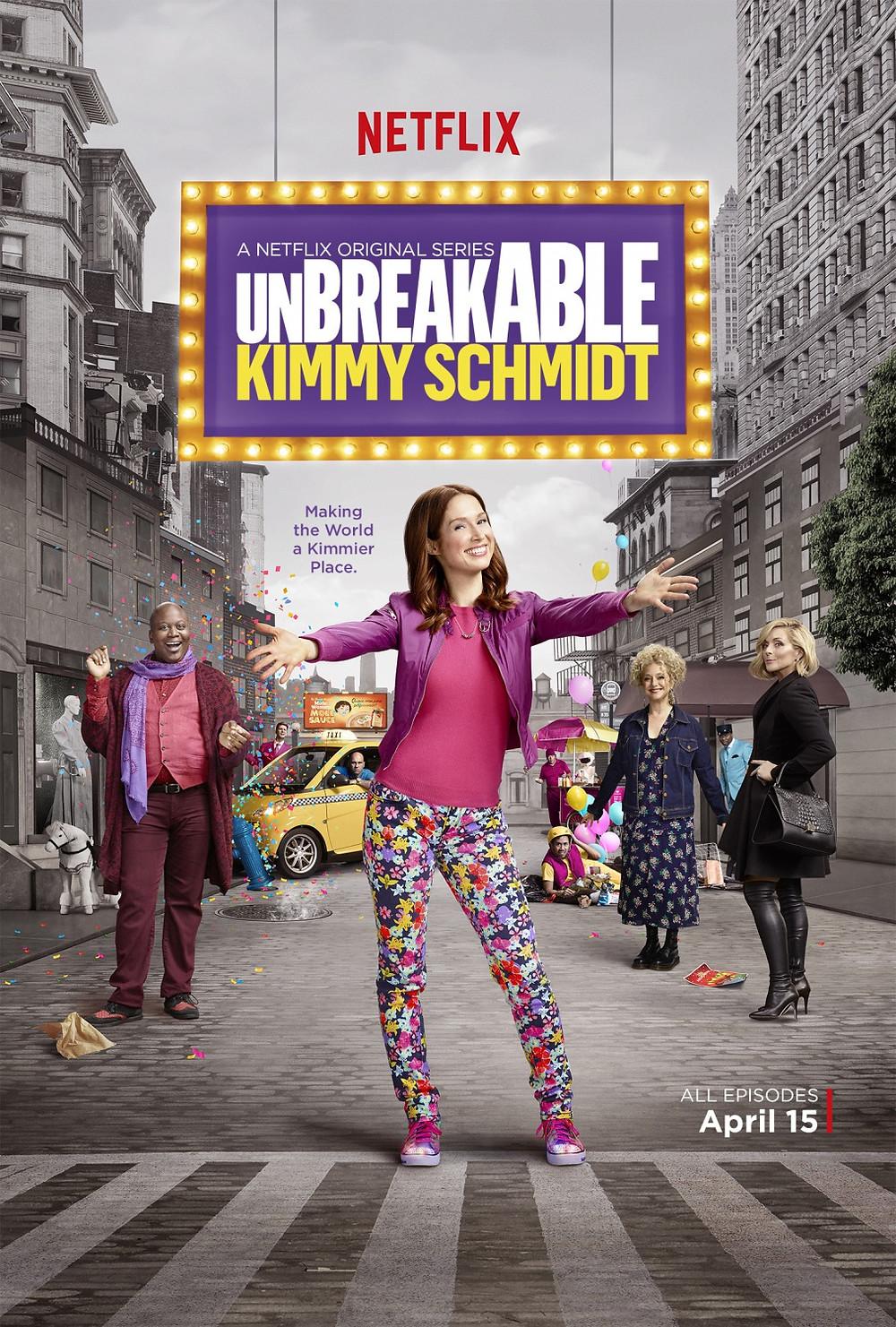 Unbreakable Kimmy Schmidt série netflix
