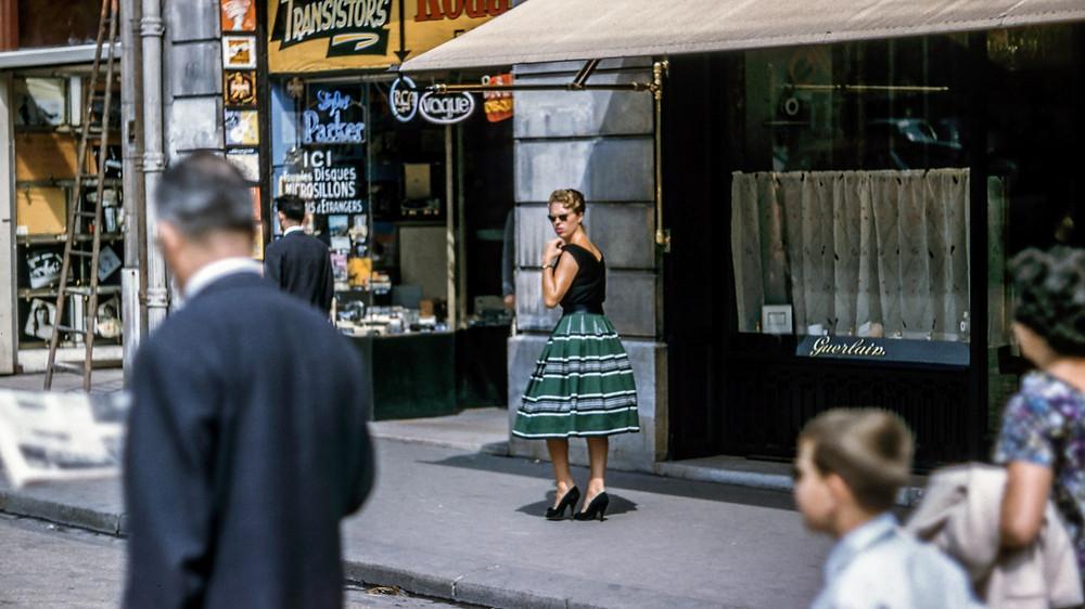 femme vintage harcèlement de rue