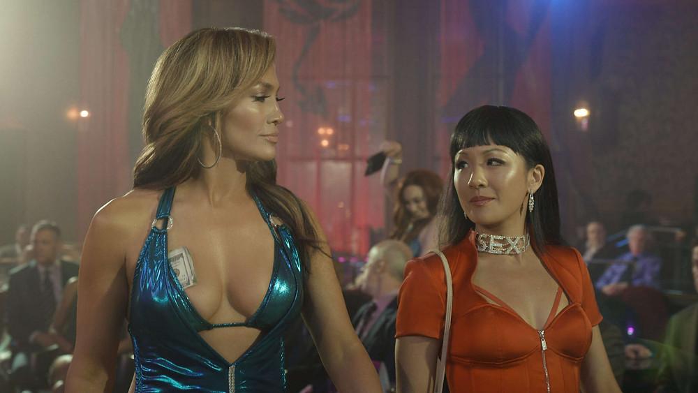 film hustlers jennifer lopez stripteaseuse