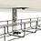 Thumbnail: 2/9857 STBF หูอุ้มรางแขวนฝ้า รางขนาด 100x35 mm