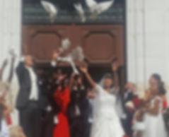 lâcher de colombes mariage haute savoie 74