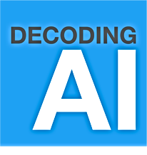 decoding ai logo _podcast and newsletter