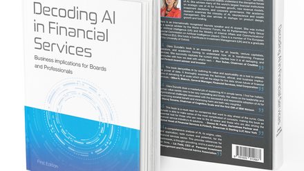 BOOK REVIEW  Decoding AI in Financial Services – Business Implications for Boards and Professionals