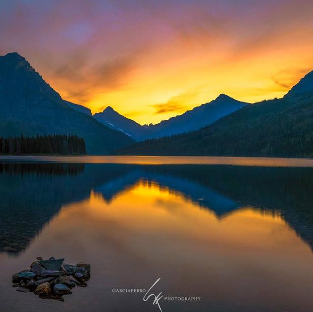 Two Medicine Lake Garciaferro Montana