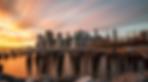 Isla de Manhattan al Atardecer