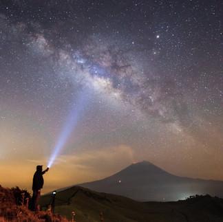 Vía Láctea Popocatépetl Garciaferro