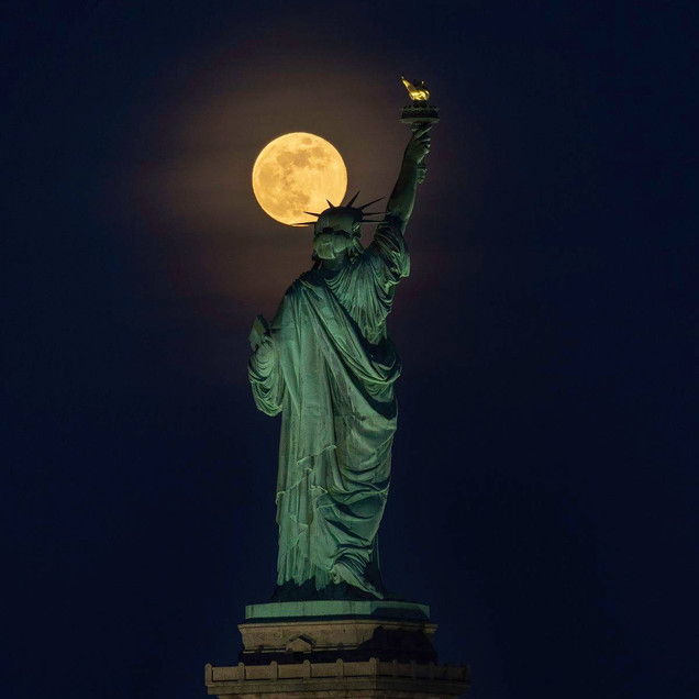 Estatua de la Libertad Nueva York Garciaferro