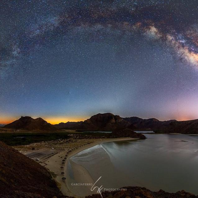Vía Láctea Balandra
