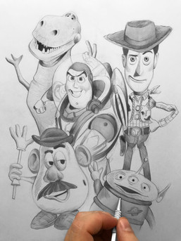 Toy Story Sketch