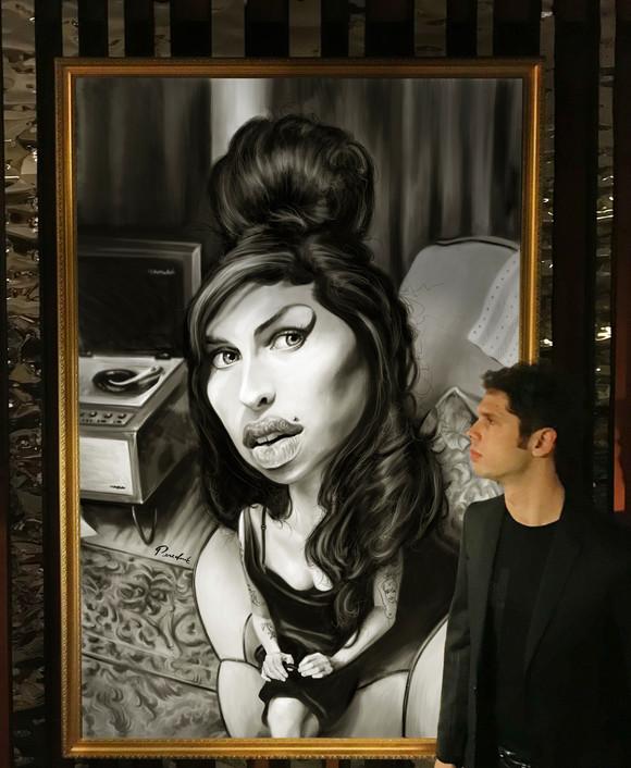 Juan Perednik Amy Winehouse 2017 BEHANCE