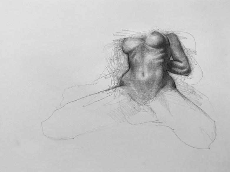human figure live model
