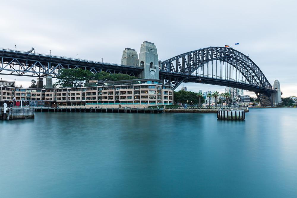Sydney Harbour Bridge, Shooter 25, f/22 iso 50