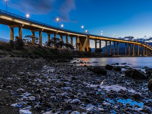 Travel to Tasman Bridge - Tasmania