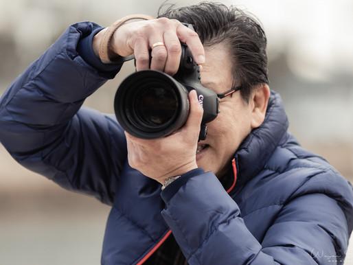 Photograph a photographer