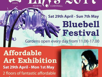 Exhibition at Enys House, May Day weekend