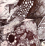 Pen and Ink free illustration, bespoke design, drawings prudamescreative.com