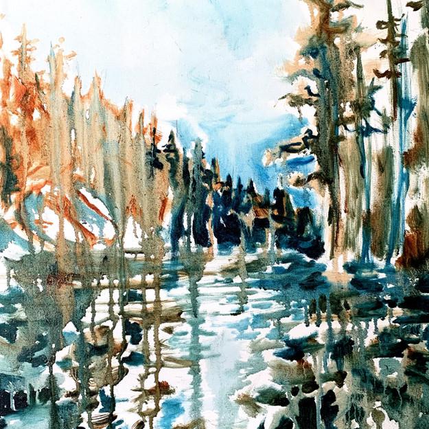 Blackfoot River in Spring