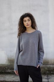 FW1905 - cashmere rib pullover