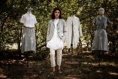 19180 - cotton shirt Chinzia  19174 - cotton skirt Jofrette 19122 - linen jacket Violetta 19168 - cotton shirt Celestine  19132 - cotton pants Palmina 19135 - cotton linen coat Manuela 19154 - cotton dress Rose