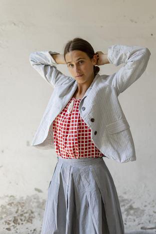 21114 - Jacket Vania 21146/P - Shirt Celestina 21112 - Skirt Jane