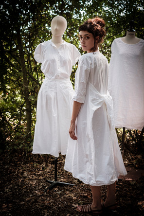 19170 - cotton shirt Cecilia 19162 - cotton skirt Jenny 19156 - cotton dress Roberta 19128 - linen dress Rowena