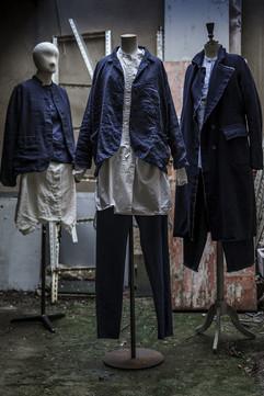 19335 - Jacket Virginia 19347 - T-shirt Tina 19348 - Pants Pieroschka 19343 - Jacket Valmira  19367 - Shirt Chantal 19322 - Pants Prisca 19307 - Coat Cosette 19374 - Shirt Cleo 19353 - Pants Patsy