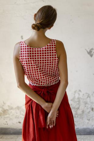 21146/P - Shirt Celestina 21165 - Skirt Jole