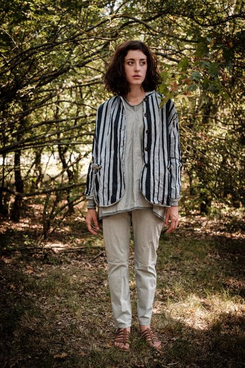 19142 - cotton jacket Valeska 19160 - cotton shirt Conny 19133 - cotton pants Prisca